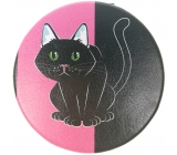Albi Original Double Handbag Mirror Cat diameter 7 cm