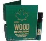 Dsquared2 Green Wood eau de toilette for men 1 ml with spray, vial