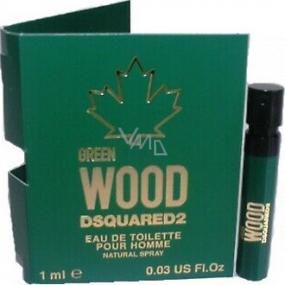 Dsquared2 Green Wood Eau de Toilette for Men 1 ml with spray, Vial