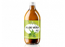 Allnature Aloe Vera Bio 100% juice supports the natural defenses, has detoxifying effects and helps fight fatigue food supplement 500 ml