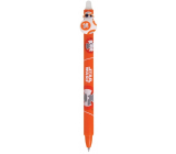 Colorino rubber pen Star Wars orange, blue refill 0.5 mm