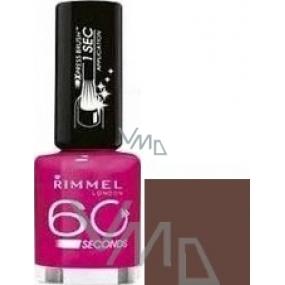 Rimmel London 60 Seconds nail polish 540 Chocolate Fountain 8 ml