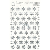 Arch Holographic decorative stickers Christmas snowflakes silver 1 arch