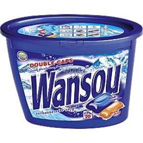 Wansou Mountain Sky universal two-chamber gel washing capsules 20 pieces