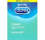 Durex Classic klasický kondom Nominální šířka: 56 mm 18 kusů