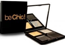 Be Chic! Smokey Eyes Eye Shadow Palette paleta 4 očních stínů