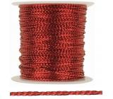 Red decorative thread 20 m