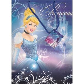 Ditipo Disney Dárková papírová taška dětská L Princess 32,5 x 13,5 x 26,3 cm 2902 006