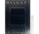 Bvlgari Goldea the Roman Night parfémovaná voda pro ženy 1,5 ml s rozprašovačem, Vialka