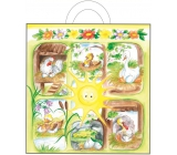 Bag of igel.s with ear 48x45x6 cm 765-01 Sunshine with animals 0021