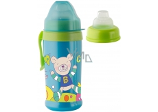 Rotho bottle for baby - silicone mouthpiece Boy 10mes. +