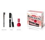 Miss Sporty Fabulous Lash Xtra Black mascara + nail polish + tuž.oči cosmetic set