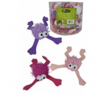 Papillon Frog toy for cats 10 cm different colors