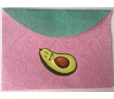 Document Case - Avocado pink
