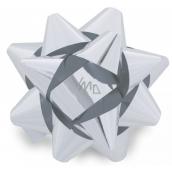 Nekupto Starfish medium metal silver 6.5 cm HX 127 02