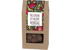 Albi Almonds in chocolate with cinnamon Over the weekend, calories do not count 80 g