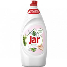 Jar Sensitive Aloe Vera & Pink Jasmine Scent Hand dishwashing detergent 900 ml