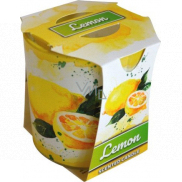 Admit Verona Lemon - Lemon scented candle in glass 90 g
