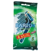 Barton 2-blade swinging razor for men 5 pieces TD702M