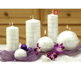 Lima Galaxy candle white cylinder 50 x 170 mm 1 piece