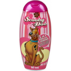 Disney Scooby-Doo 2in1 shower gel for bath and shampoo 250 ml pink cover