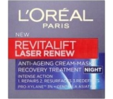 Loreal RevitaLift Laser Renew Night Cream accelerate recovery of skin 50 ml