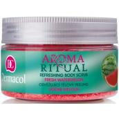 Dermacol Aroma Ritual Vodní meloun Osvěžující tělový peeling 200 g Body Scrub Fresh Watermelon