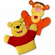 Disney Winnie the Pooh washing cloth for children 22 x 21.3 x 1.5 cm 1 piece