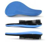 Dtangler Detangling Brush Brush for easy combing of hair 18.5 cm blue