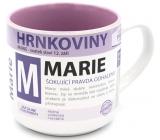Nekupto Hrnkoviny Mug with the name of Marie 0.4 liter