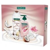 Palmolive kaz.SG 250ml Kokos + tek.mýd.250ml Orchid 9891