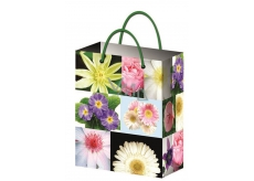 All-year gift bag L- flowers 32x26x12,7cm 12181 6842