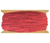 Red paper string 30 m