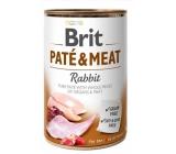 Brit Paté & Meat Rabbit and chicken pure meat paté complete dog food 400 g