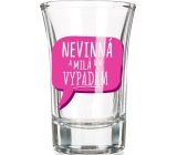 Nekupto Laughter glass gift shot Innocent and kind 0.04 l