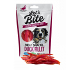 Brit Lets Bite Duck fillets supplementary food for dogs 300 g