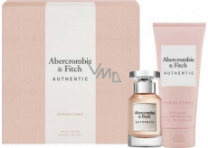 Abercrombie & Fitch Authentic Woman Eau de Parfum for Women 50 ml + Body Lotion 200 ml, gift set
