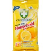 Green Shield Household Surface Wipes 4in1 Household Wet Napkins 50 Pieces