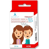 Aknelot Fixaplast Hydrocolloid patch for acne 24 pieces