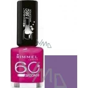 Rimmel London 60 Seconds nail polish 610 Pompous 8 ml