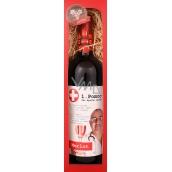Bohemia Gifts & Cosmetics Merlot První pomoc při špatné náladě dárkové víno 750 ml
