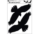Sticker silhouette birds 42 x 30 cm No.3