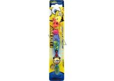 SpongeBob Soft blikající zubní kartáček pro děti s časovačem 1 minuty