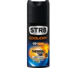 Str8 Cool + Dry Thermal Protect 48h antiperspirant deodorant spray for men 150 ml