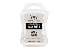 WoodWick Warm Wool - Warm wool fragrant wax for aroma lamps 22.7 g