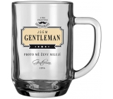 Nekupto League of the Right Gentlemen Beer glasses NHE 005 I am GENTLEMAN - that's why women love me.