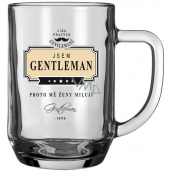 Nekupto League of True Gentlemen Beer glasses I'm a Gentleman - that's why women love me 14.5 x 13 x 10 cm