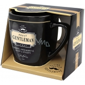 Nekupto League of Real Gentlemen mug in a box, Real GENTLEMAN- distinctive, intelligent, strong and stylish, 7.5 x 9 cm