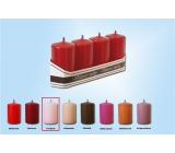 Lima Candle Pink Roller 40 x 70 mm 4 pieces