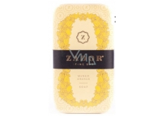 Zador Mango and Orange Luxury hand-packed, three-times finely ground elegant soap with water from thermal lake 160 g